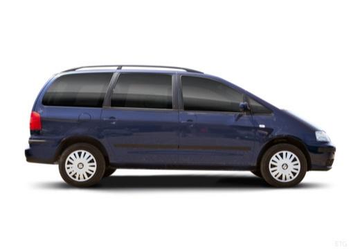 SEAT Alhambra II van boczny prawy