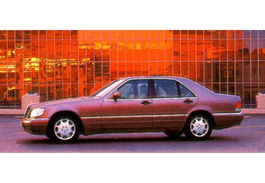 MERCEDES-BENZ S 280 Sedan W140 II 2.8 193KM (benzyna)