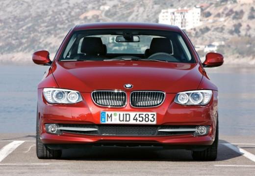 BMW Seria 3 E92 II coupe czerwony jasny przedni