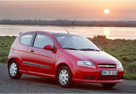 CHEVROLET Aveo 1.2 Direct swoabs Hatchback I 72KM (benzyna)