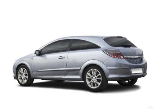 OPEL Astra III GTC I hatchback szary ciemny tylny lewy