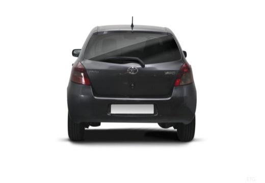 Toyota Yaris III hatchback tylny