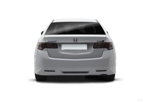 HONDA Accord VIII sedan biały tylny