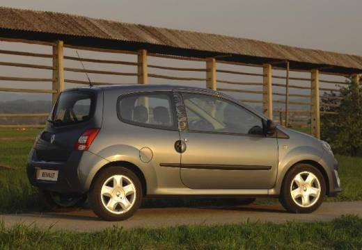 RENAULT Twingo IV hatchback silver grey boczny prawy