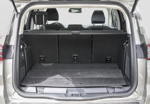 FORD S-MAX van silver grey przestrzeń załadunkowa