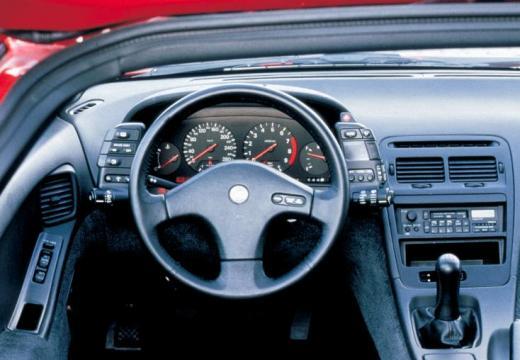 NISSAN 300 ZX targa czerwony jasny tablica rozdzielcza