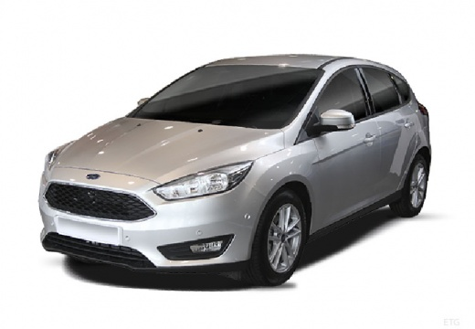 FORD Focus VI hatchback silver grey