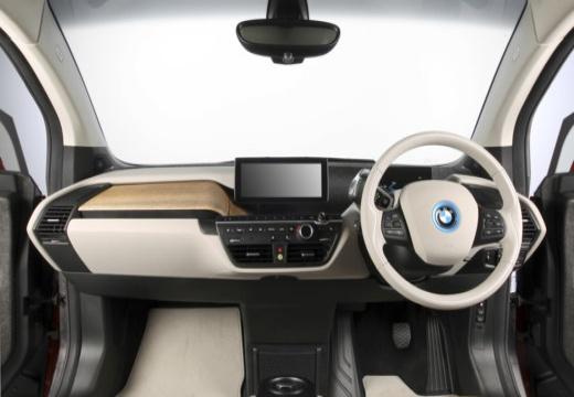 BMW i3 I01 I hatchback pomarańczowy tablica rozdzielcza