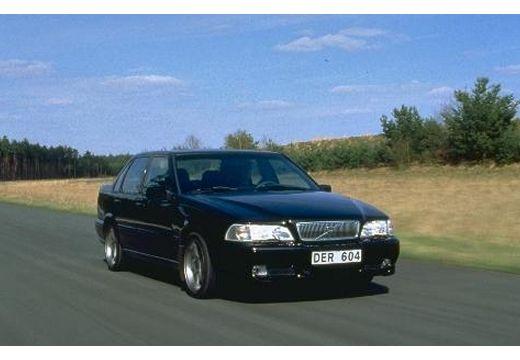 VOLVO S70 I sedan czarny przedni prawy