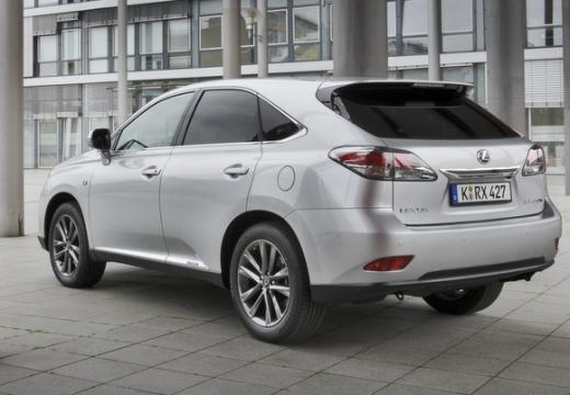 LEXUS RX III kombi silver grey tylny lewy