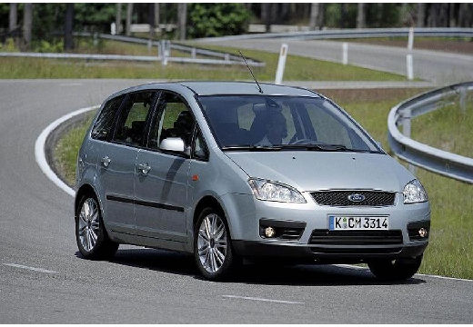 FORD C-MAX Focus kombi mpv silver grey przedni prawy