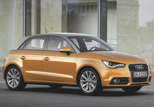 AUDI A1 Sportback I hatchback pomarańczowy przedni prawy