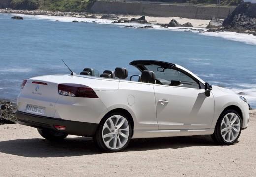 RENAULT Megane III CC kabriolet biały tylny prawy
