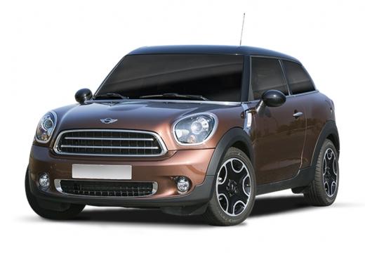 MINI [BMW] Paceman hatchback brązowy