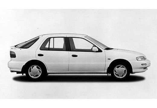 KIA Sephia hatchback silver grey przedni lewy