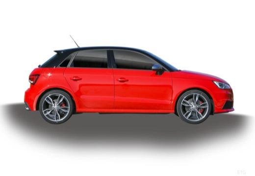 AUDI A1 Sportback II hatchback boczny prawy