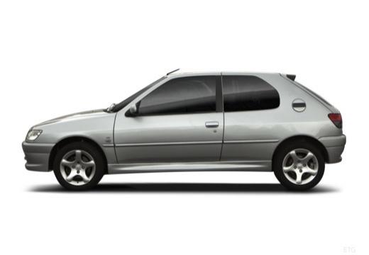 PEUGEOT 306 II hatchback boczny lewy