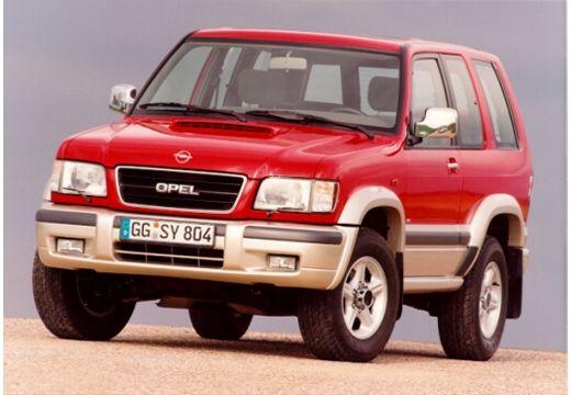 OPEL Monterey II kombi czerwony jasny przedni lewy
