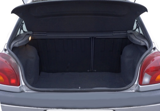 FORD Fiesta hatchback silver grey przestrzeń załadunkowa