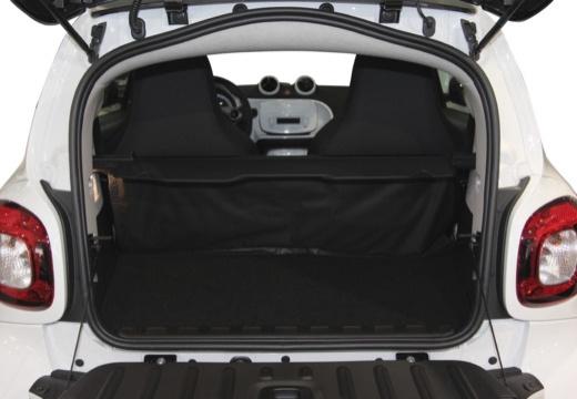 SMART fortwo hatchback biały przestrzeń załadunkowa