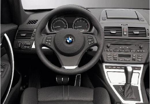 BMW X3 X 3 E83 II kombi szary ciemny tablica rozdzielcza