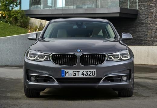 BMW Seria 3 Gran Turismo F34 II hatchback silver grey przedni