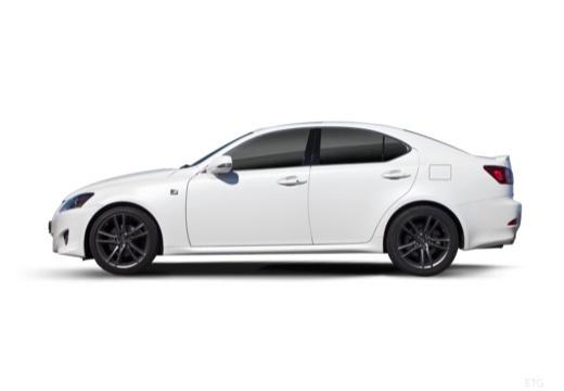 LEXUS IS IV sedan biały boczny lewy