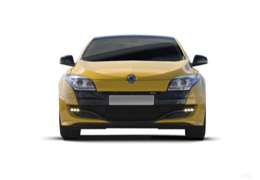 RENAULT Megane III Coupe I hatchback żółty przedni