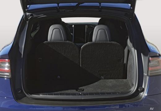 TESLA Model X I hatchback przestrzeń załadunkowa