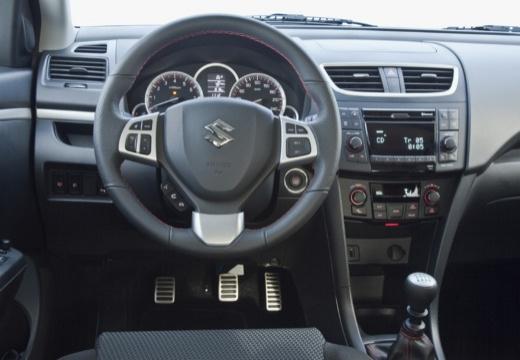 SUZUKI Swift II hatchback biały tablica rozdzielcza