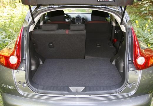 NISSAN Juke I hatchback przestrzeń załadunkowa