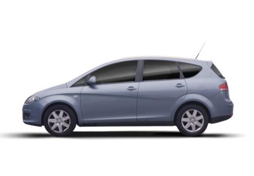 SEAT Altea XL I hatchback boczny lewy