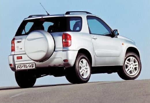 Toyota RAV4 II kombi silver grey tylny prawy
