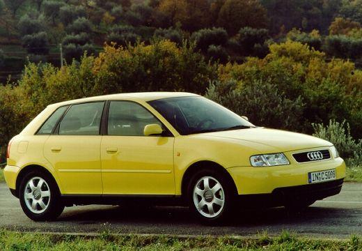 AUDI A3 /S3 8L I hatchback żółty przedni prawy