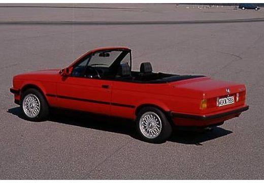 BMW Seria 3 kabriolet czerwony jasny tylny lewy