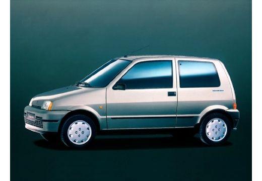 FIAT Cinquecento I hatchback silver grey przedni lewy