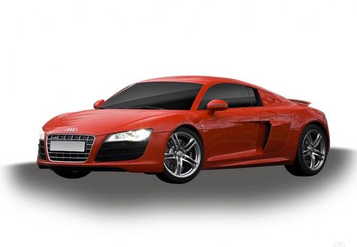 AUDI R8 I coupe czerwony jasny