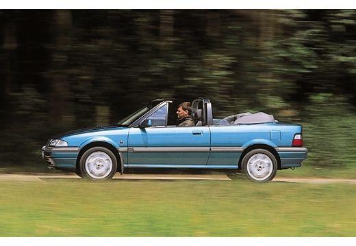 ROVER 200 kabriolet niebieski jasny boczny lewy