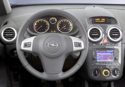 OPEL Corsa D II hatchback tablica rozdzielcza