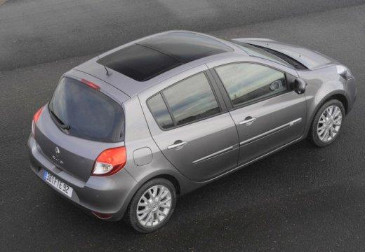 RENAULT Clio III II hatchback silver grey tylny prawy