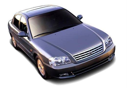 KIA Magentis sedan czarny przedni prawy