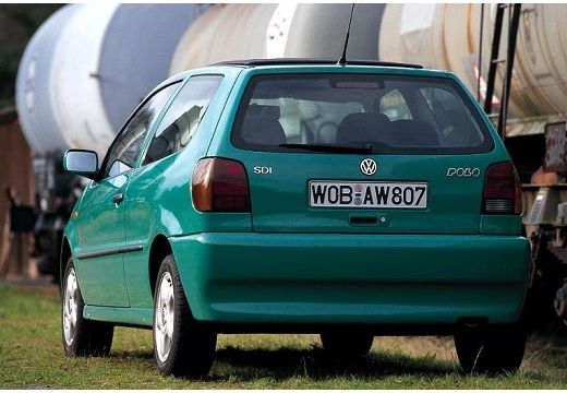 VOLKSWAGEN Polo III I hatchback zielony jasny tylny lewy