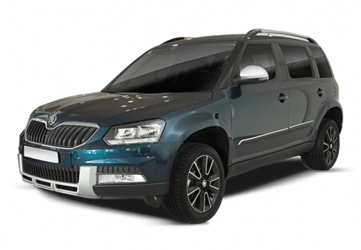 SKODA Yeti Outdoor kombi zielony