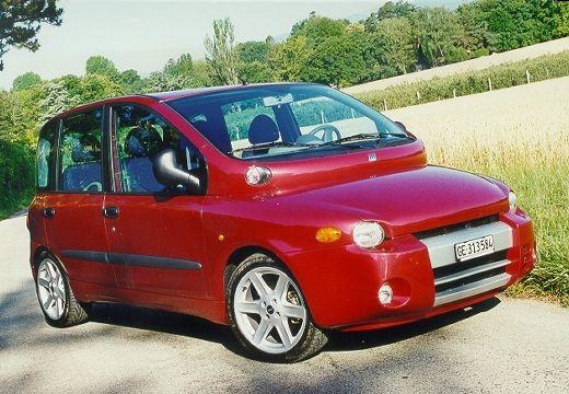 FIAT Multipla I kombi czerwony jasny przedni prawy