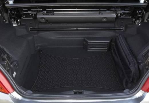 PEUGEOT 207 kabriolet silver grey przestrzeń załadunkowa