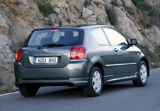 Toyota Corolla VII hatchback szary ciemny tylny prawy