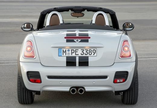 MINI [BMW] roadster silver grey tylny