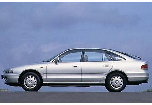 MITSUBISHI Galant II hatchback silver grey boczny lewy