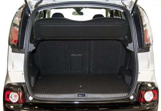 CITROEN C3 Picasso II hatchback silver grey przestrzeń załadunkowa