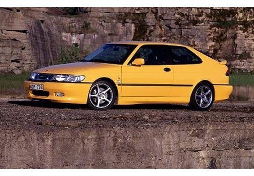 SAAB 9-3 I hatchback żółty przedni lewy